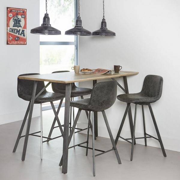 Barkruk-design-vintage-zwart-bartafel