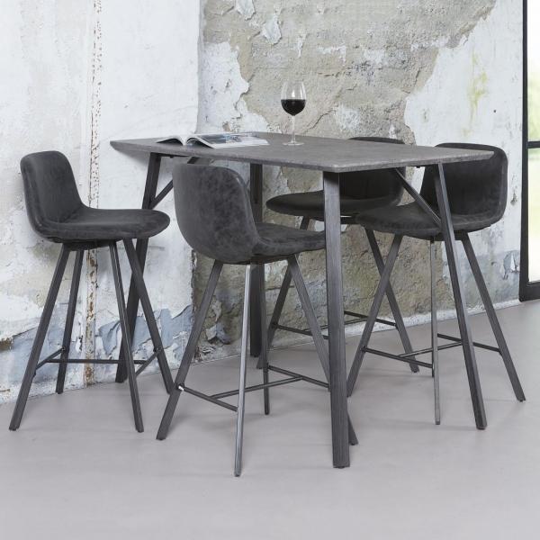 Barkruk-design-vintage-zwart-sfeer