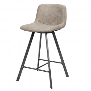 Barkruk-vintage-bruin-design